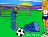 Coup franc de Football