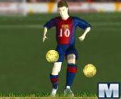 Messi et ses 4 Ballon