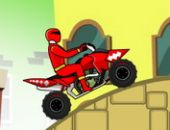 Power Rangers Dino Rouge Rapide ATV