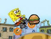 Spongebob  Rapide À Vélo Temps