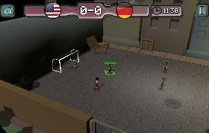 Calcio di strada 3D